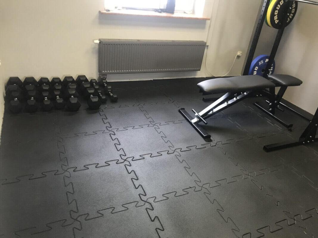 Puzzle do siłowni BASIC BLACK